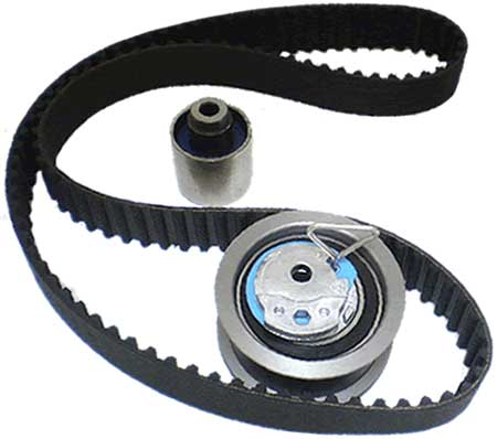 timing belt and tensioner